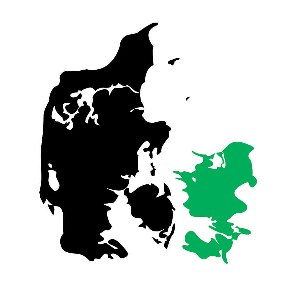 Vi dækker hele Sjælland